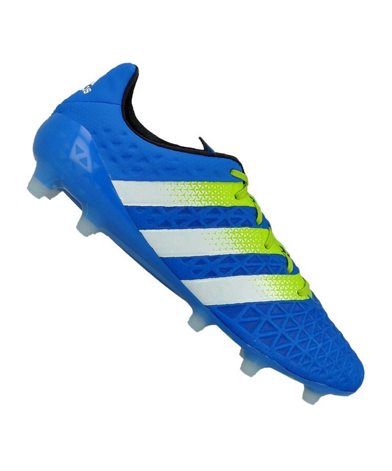 4209cf74b16d2a adidas ACE 16.1 FG Blau Grün - blau