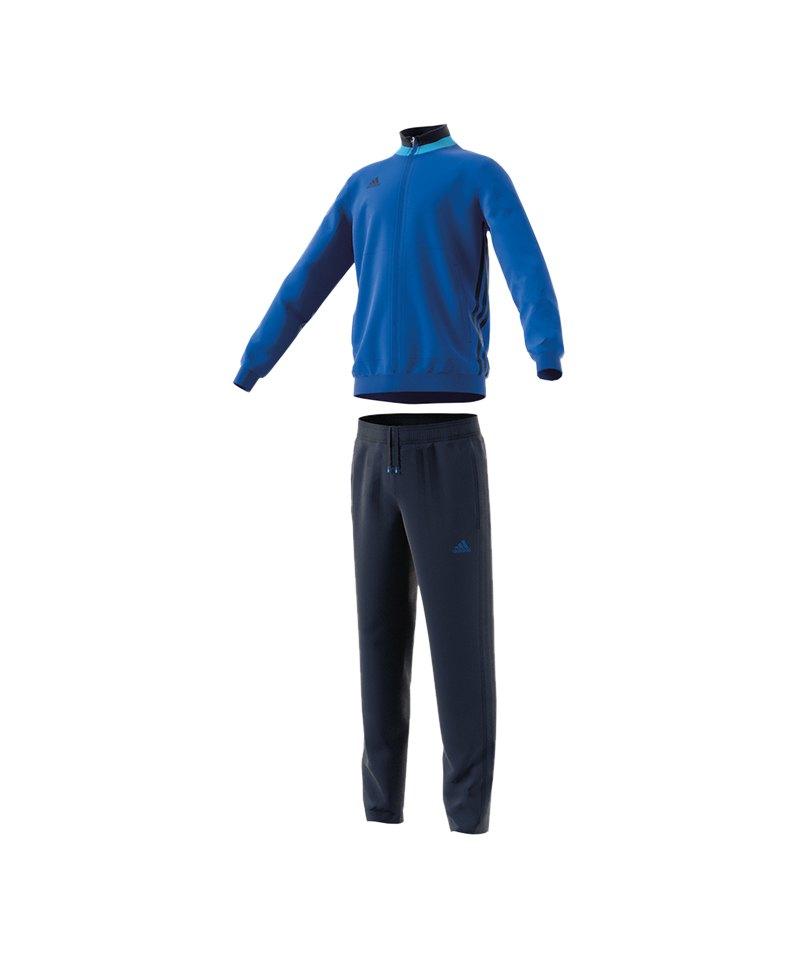 adidas Condivo 16 Polyesteranzug Kids Blau