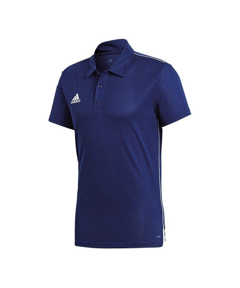 d53d9bbbd89a adidas Core 18 ClimaLite Poloshirt Dunkelblau blau