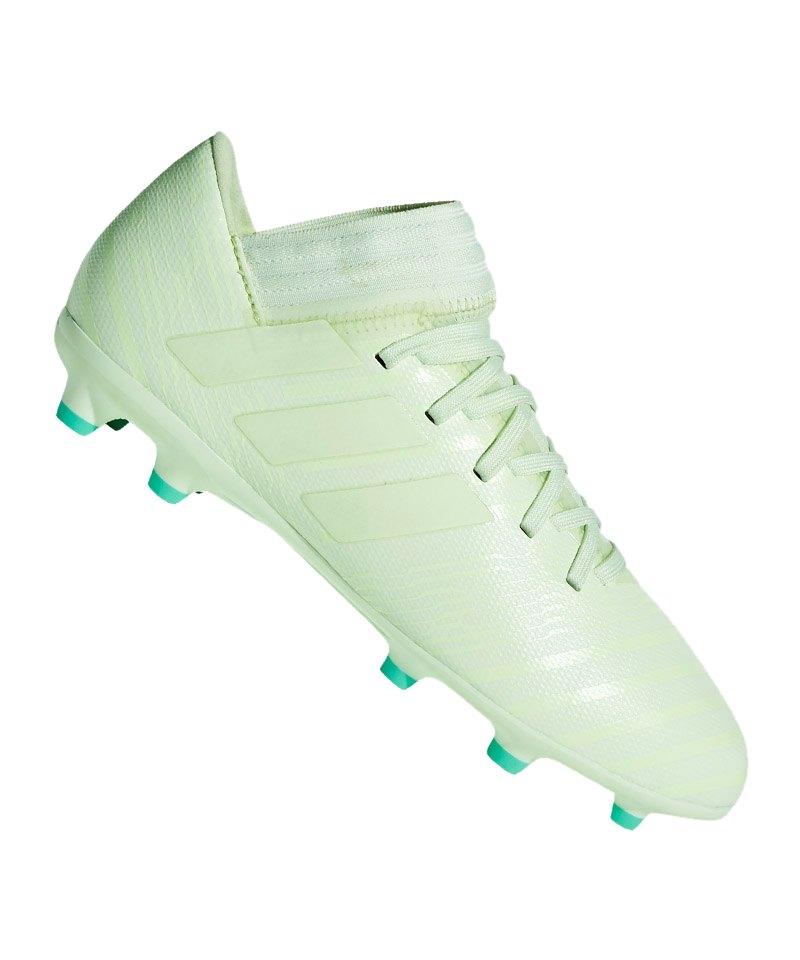 Details zu adidas Performance Nemeziz 17.3 FG Fußballschuh Kinder Fußballschuhe Grün