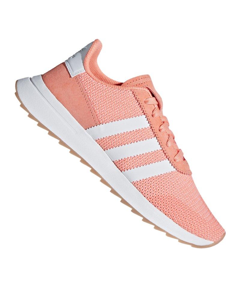 Heißer Verkauf Adidas Originals Weiß Orange Sneaker