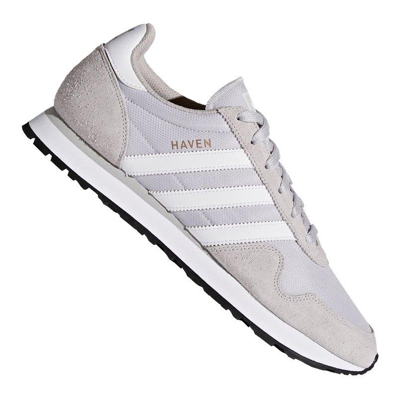 Herren Adidas Originals Haven GrauWeiß