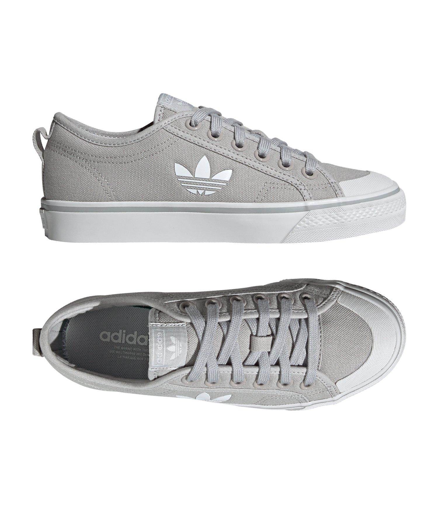 adidas Originals Nizza Sneaker für Damen Grau