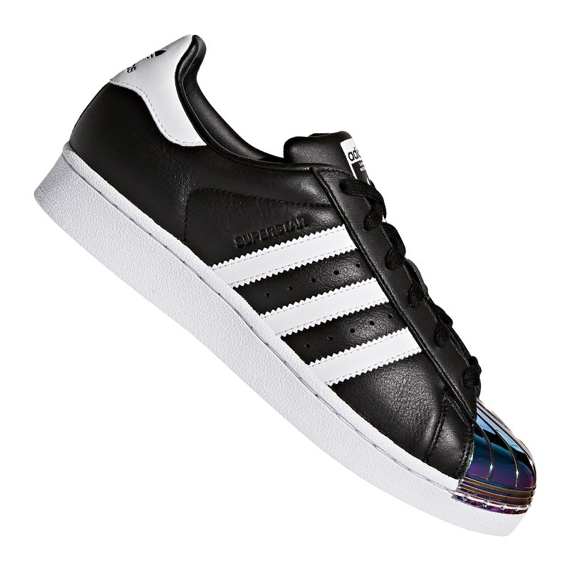 adidas sneaker superstar damen schwarz