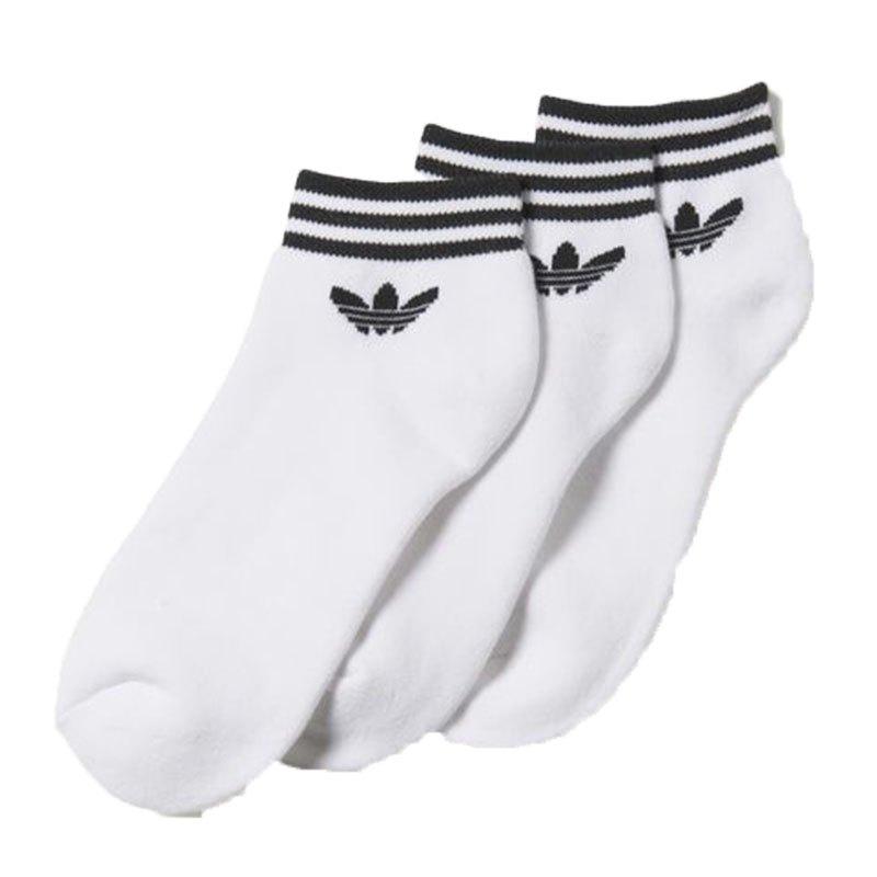 Weiss Socks Trefoil 3er Ankle Originals Adidas H8nqvS4qw