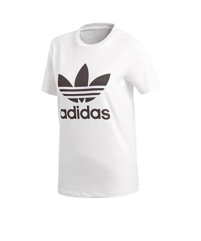 adidas Originals Trefoil Tee T-Shirt Damen Weiss - weiss 4f7f6b6768