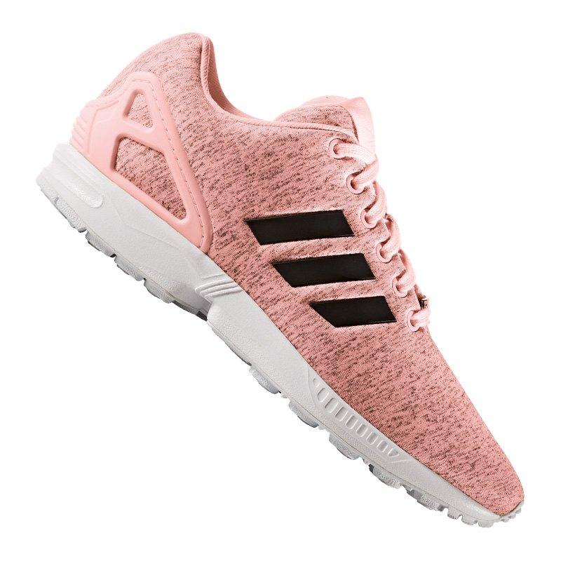 best service 94186 640d4 adidas Originals ZX Flux Sneaker Damen Rosa - rosa