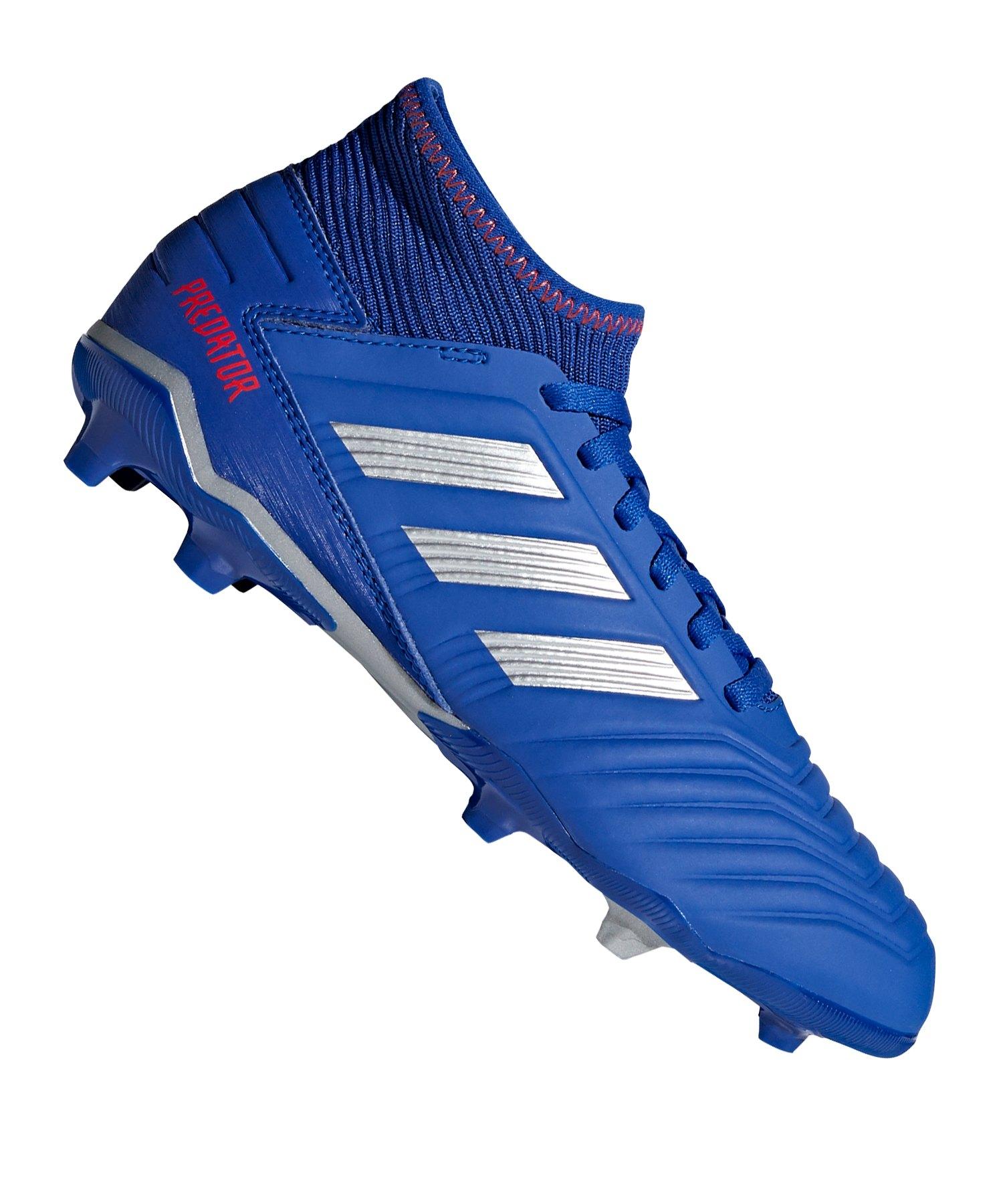 adidas Predator 19.3 LL FG Blau Silber: adidas: