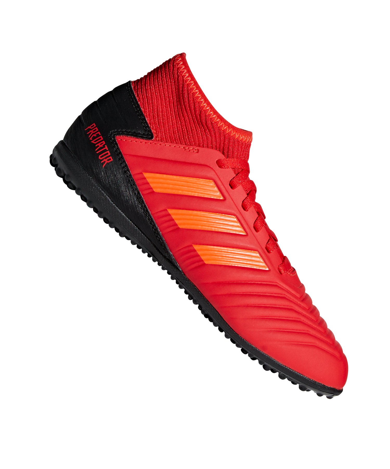 classic style first look casual shoes adidas Predator 19.3 TF J Kids Rot Schwarz
