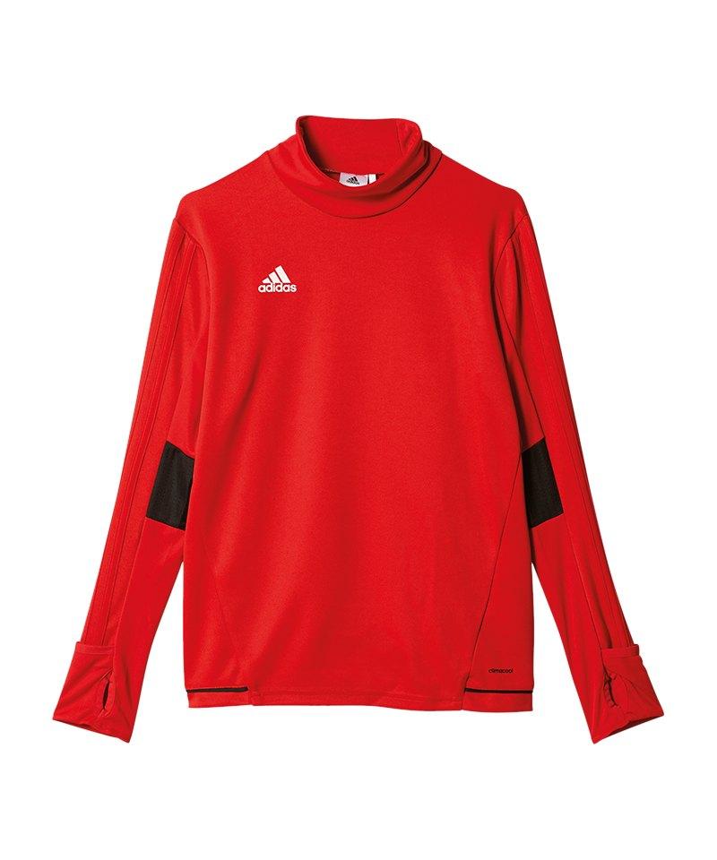 cheap sale a few days away hot sales adidas Tiro 17 Trainingstop Kids Rot Schwarz