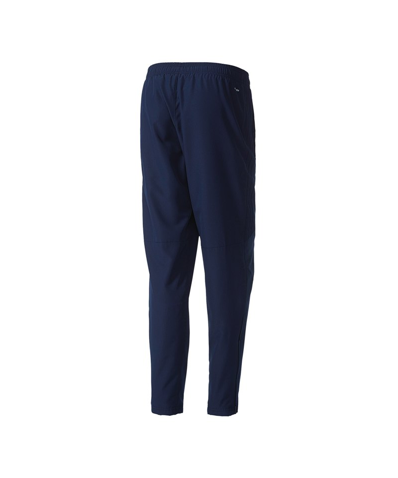 adidas Tiro 17 Woven Pant Hose lang Kids Blau | Traingshose