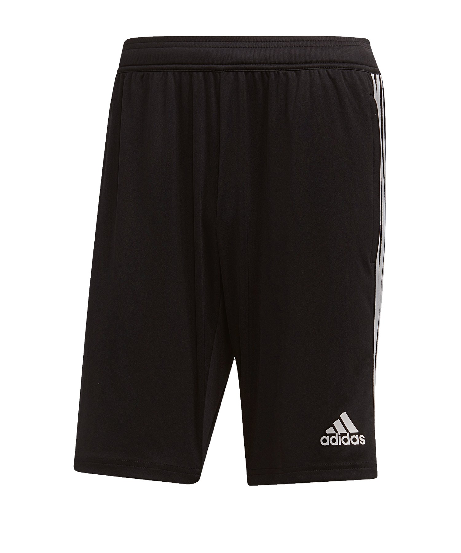 adidas tiro 19 kinder polyester pants schwarz-weiß