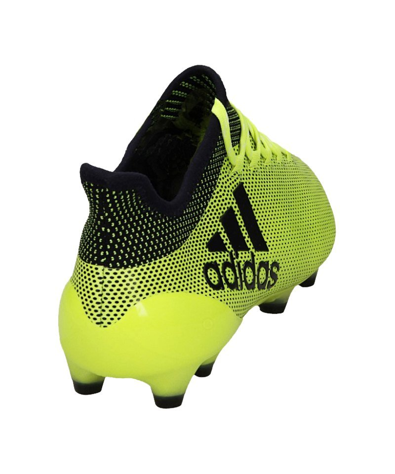 Guter Preis adidas X 17.1 FG Gelb Blau Nur für dich.