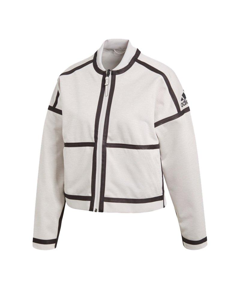 adidas Z.N.E. Reversible Jacket Jacke Damen Weiss - weiss 3f092b14e0