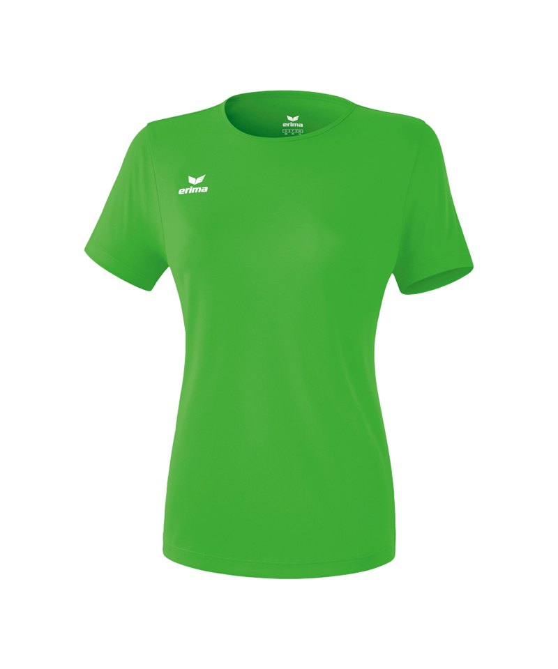 235b9a3b1830 Erima Teamsport T-Shirt Function Damen Hellgrün - gruen