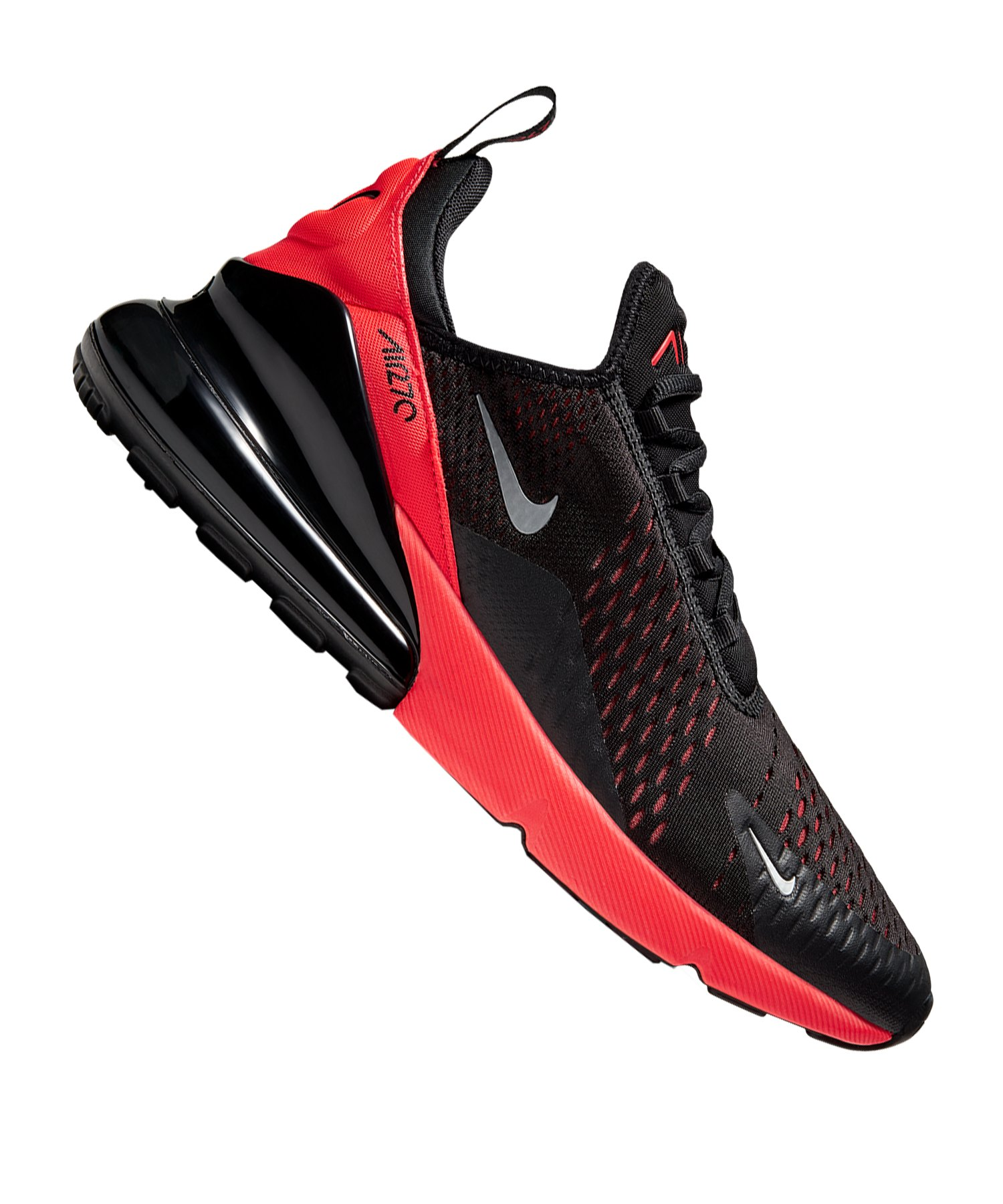 NIKE AIR MAX 270 Herren Sneaker schwarz rot AH8050 026 neu