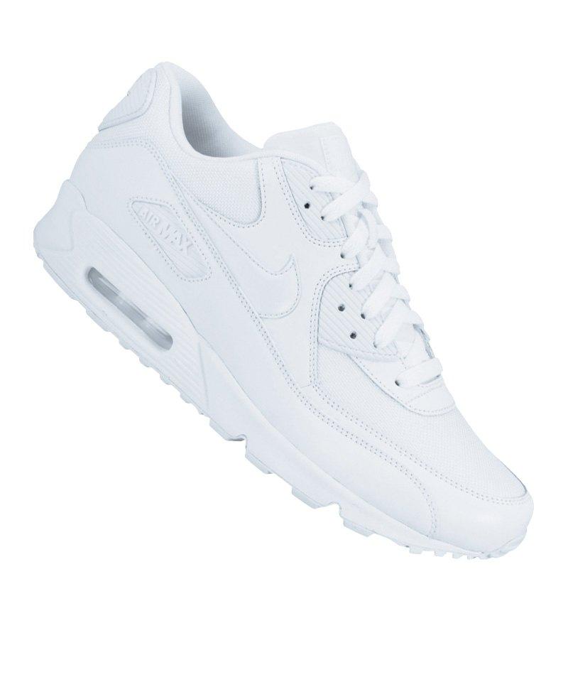 NIKE AIR MAX 90 ESSENTIAL Herren Sneaker Weiß Schuhe, Größe:46