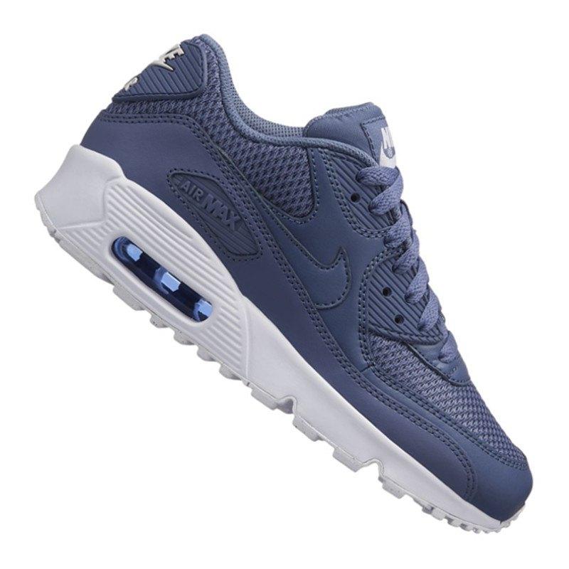 Nike Air Max 90 Mesh Sneaker Kids Blau F409