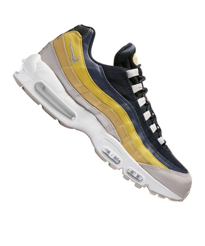Sneaker Max Essential Grau Nike Blau F107 Air 95 8PnOk0w