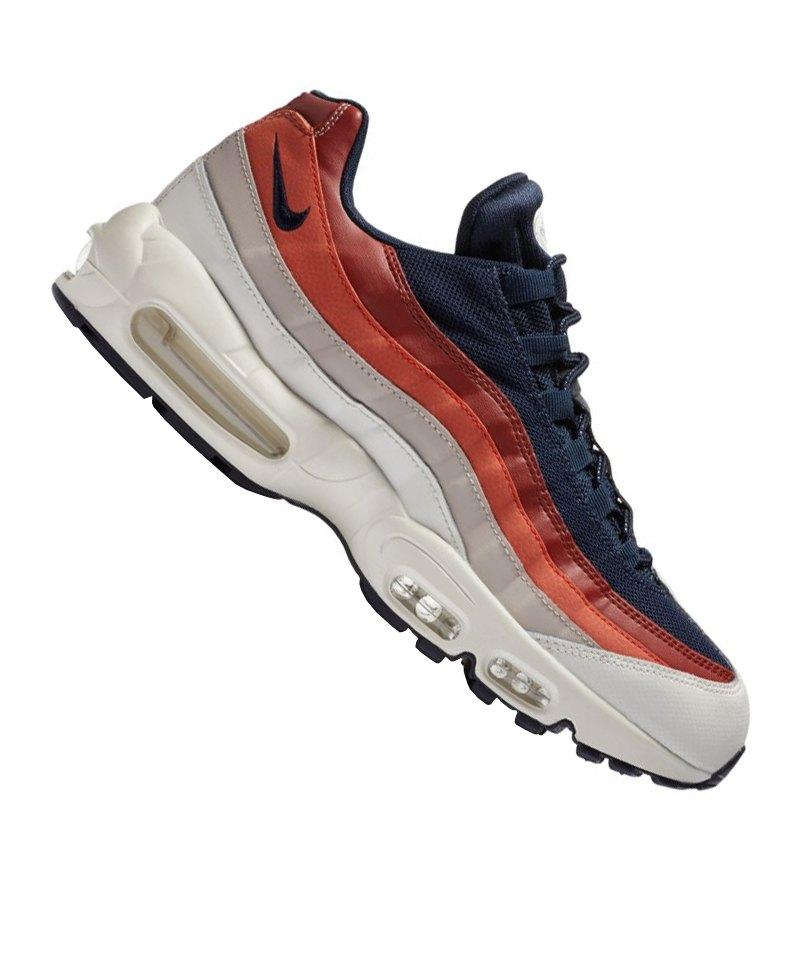hot sale online cd44d aca43 ... freizeitschuhe herren weiß rot blau 345 17436 2e9f9 7c6f5  canada nike  air max 95 essential sneaker blau weiss f108 blau 23ac1 d788e
