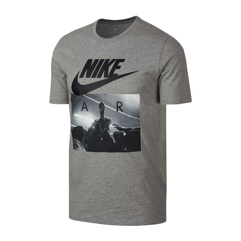 0a127f07cf03ca Nike Air T-Shirt Grau F063 - grau