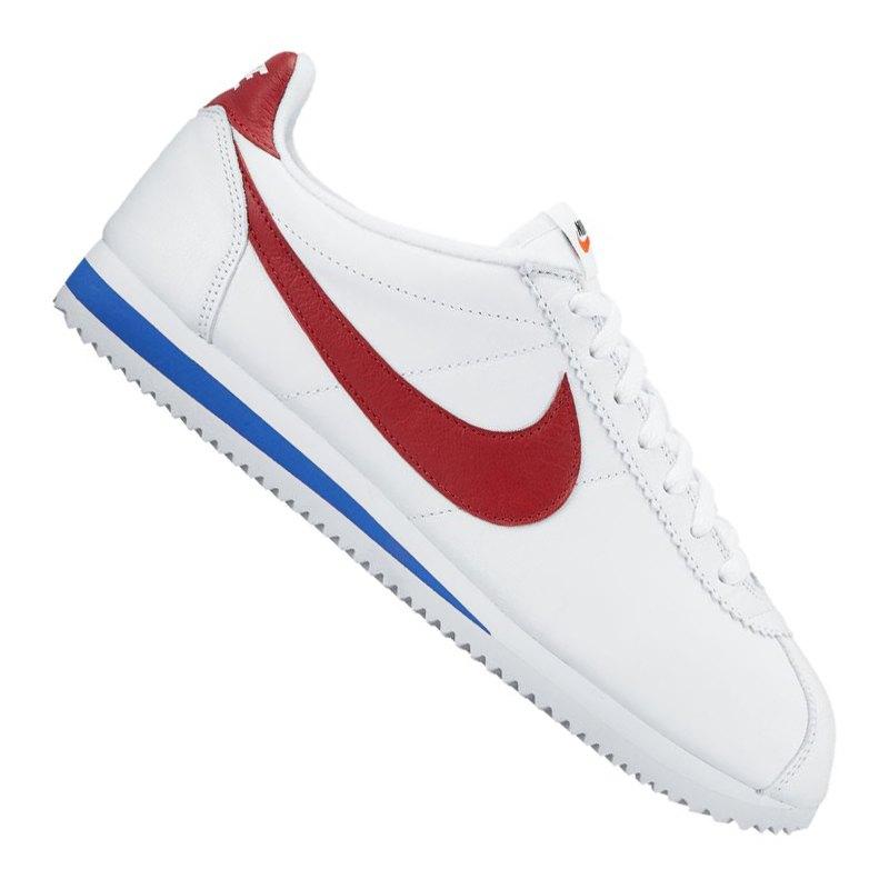 official photos 82441 9d7cb Nike Classic Cortez SE Sneaker Weiss Rot F100 - weiss