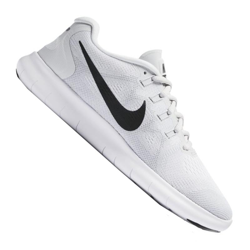 outlet online multiple colors so cheap Nike Free RN 2017 Running Damen Weiss Grau F101
