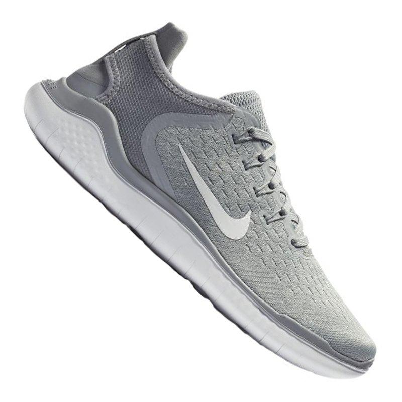 Nike Free RN 2018 Running Damen Grau Weiss F003 - grau f82b643729