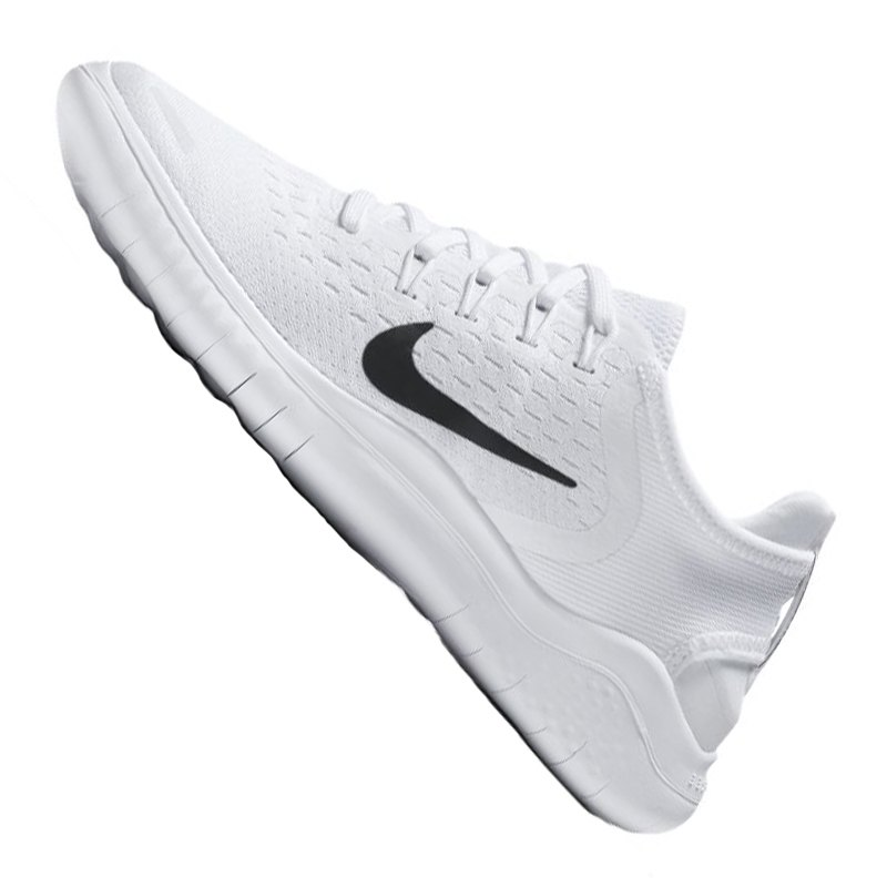 Nike Free RN Flyknit 2018 Herren WeißSchwarz 942838 101