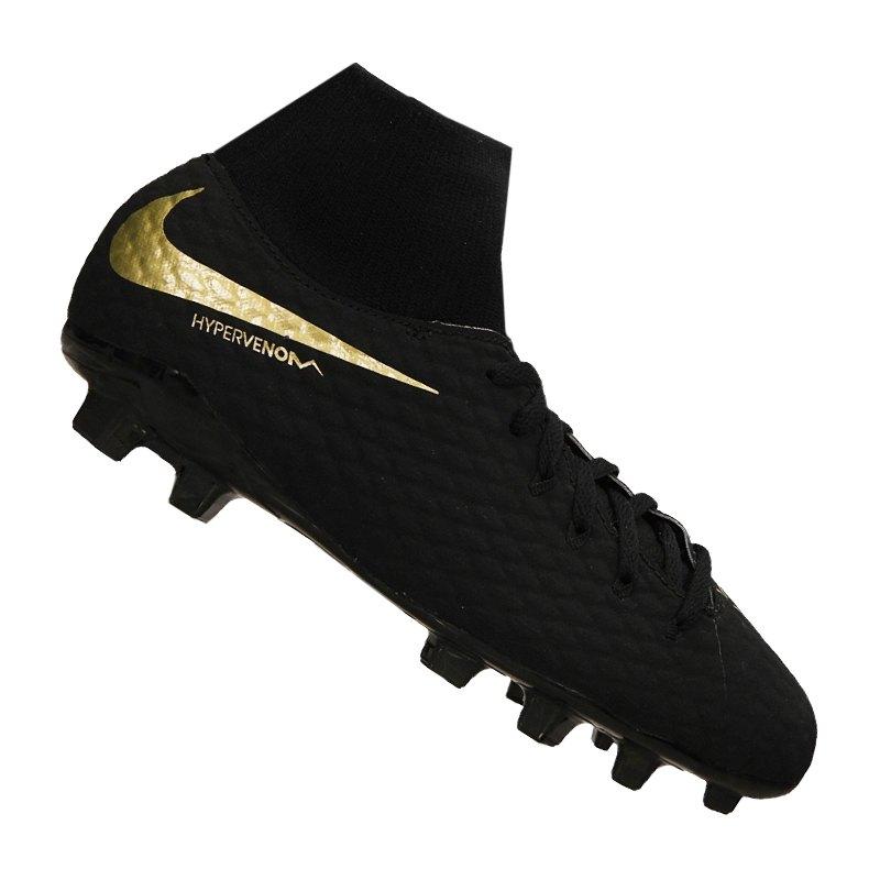7ce1aa09847 Nike Hypervenom Phantom III Academy DF FG Kids 090 - schwarz