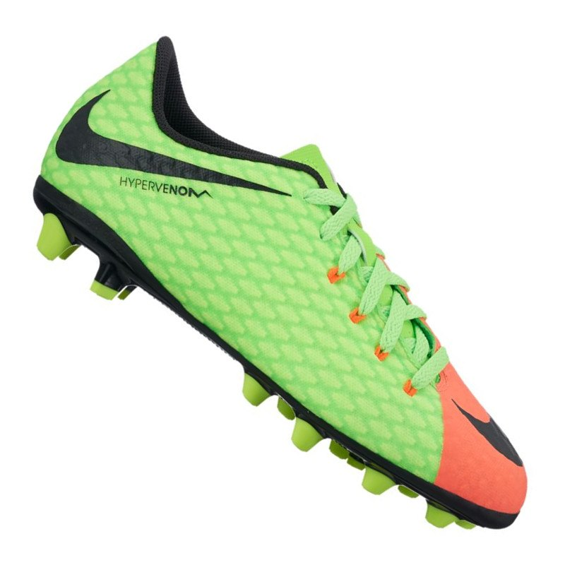Kids' Nike Jr. Hypervenom Phelon III (AG-Pro) Kunstrasen Kinder Fußballschuh ORANGE (33) 1fcib9vPq