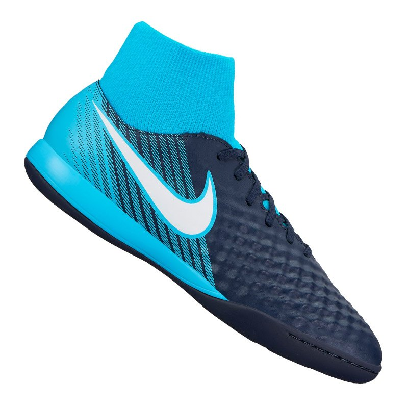 the best attitude 89ef2 e55b1 Nike Magista Onda II DF IC Blau F414 - blau