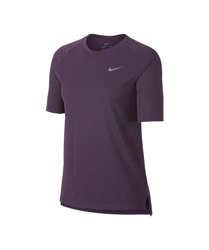 Nike Tailwind Top T Shirt Running Damen Lila F517