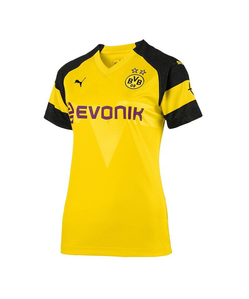 fe862f201e9f PUMA BVB Dortmund Trikot Home 2018 2019 Damen - gelb