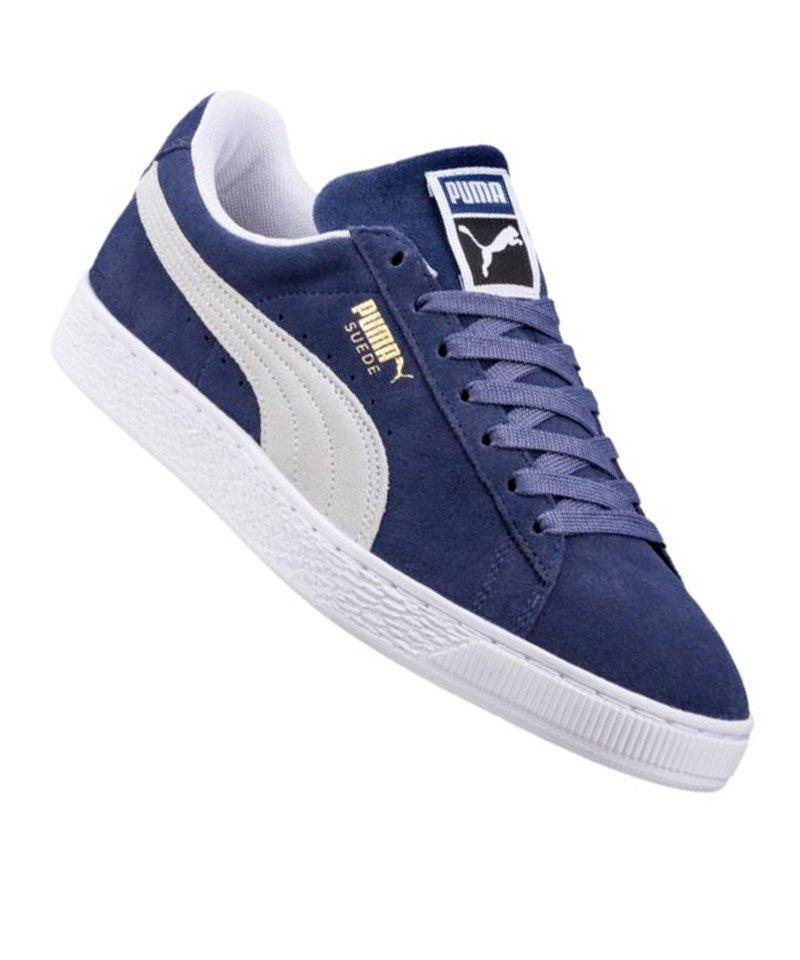 puma suede classic sneaker blau