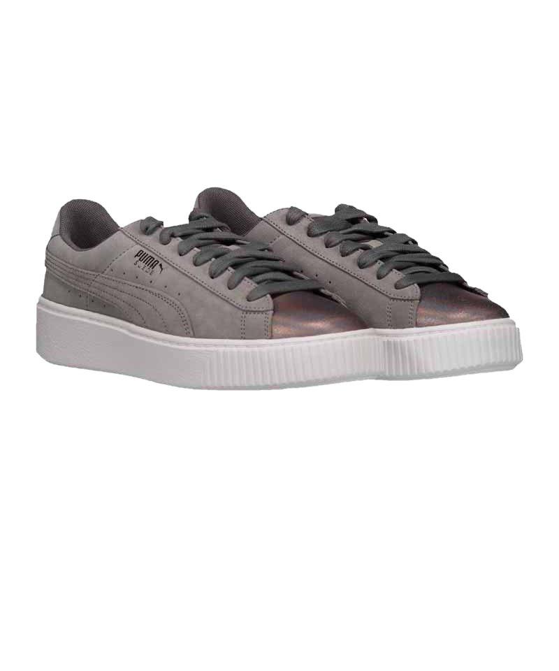 Details zu Puma Suede Platform LunaLux Sneaker Schuhe Damen Creme 366111 02