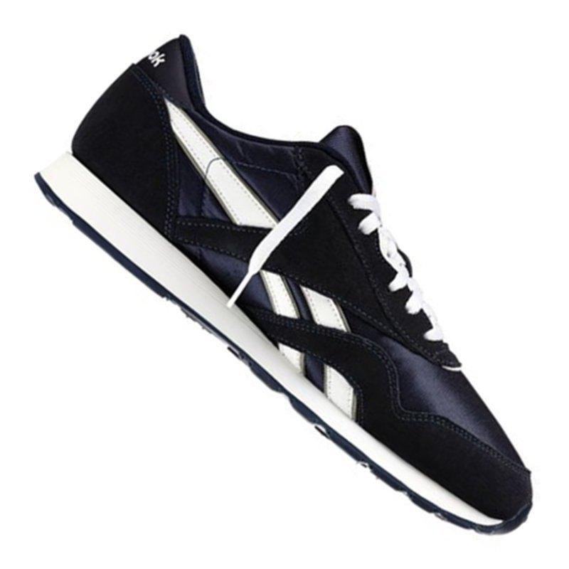 sale retailer 3d7e0 d4b03 Reebok Classic Nylon Sneaker Blau Weiss