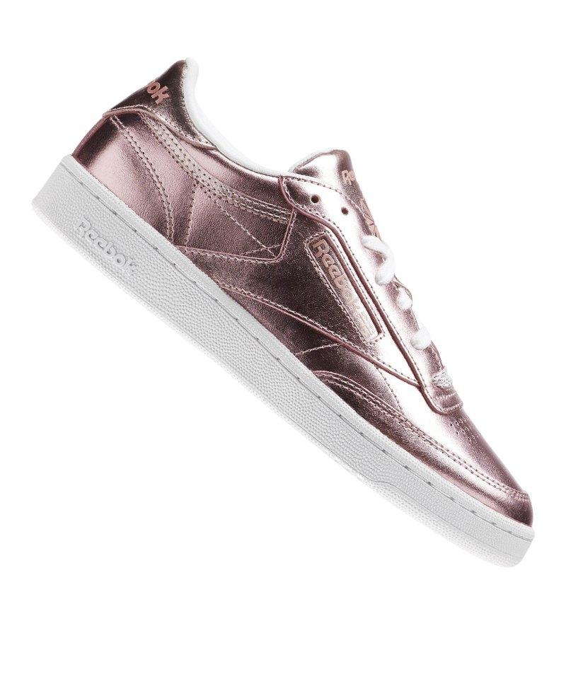 a396dae8e6fb Reebok Club C 85S Shine Sneaker Damen Rosa - rosa
