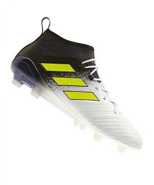 bc78b0fd467ff adidas-ace-17-1-primeknit-fg-weiss-gelb-