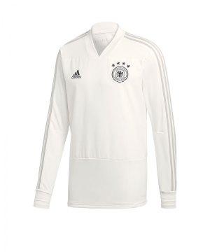 7c416059a67c adidas-dfb-deutschland-trainingstop-weiss -trainingsbekleidung-longsleeve-trainingsshirt-