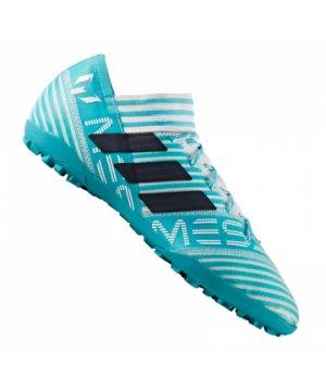 b5ad27534575d adidas-nemeziz-17-3-tf-weiss-blau-multinocken-
