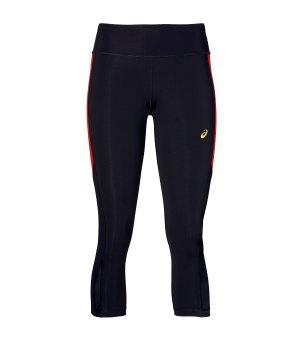 Nike Essential 78 Laufhose Damen schwarz reflektierendes silber