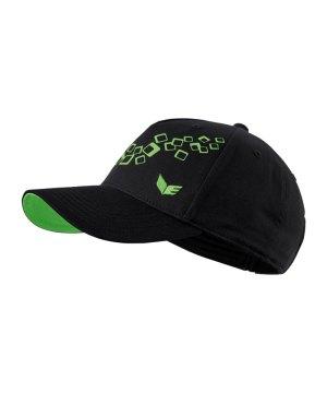 erima-base-cap-schwarz-gruen-cappie-kappe-kopfbedeckung-schutz-212600.png