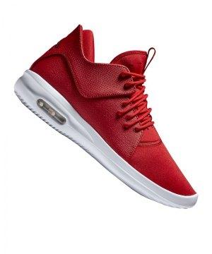 newest 735c9 a7556 jordan-air-first-class-sneaker-rot-schwarz-f607-