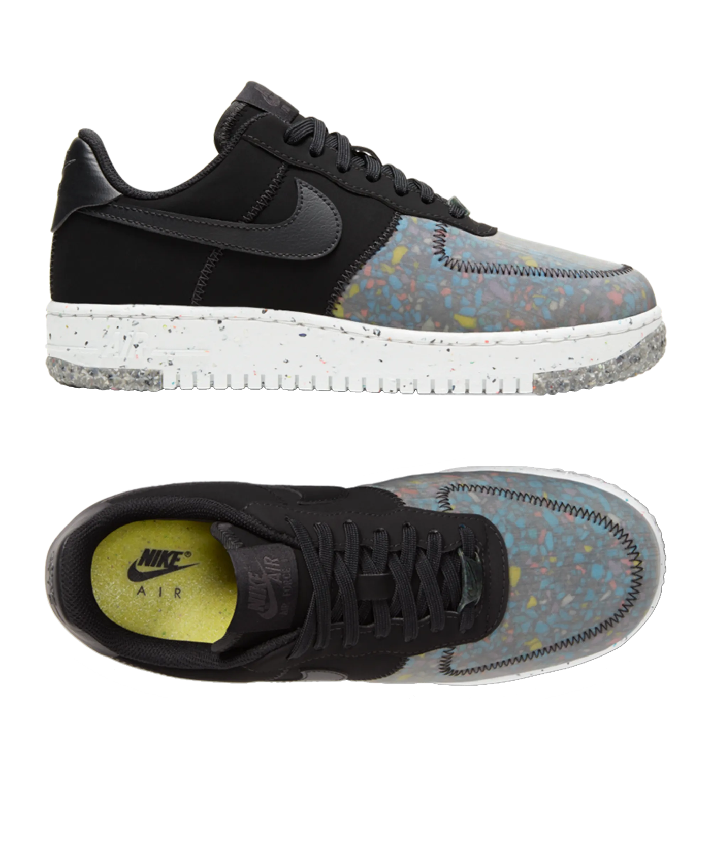 air force 1 donna col collo