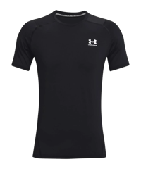 Under Armour HG Fitted T-Shirt nero F001