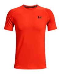 Under Armour HG Fitted t-shirt arancio F296