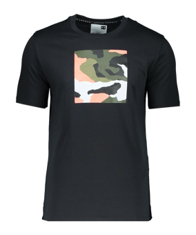 Under Armour Unstoppable Camo T-Shirt nero F001