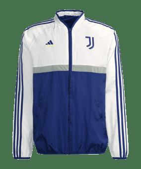 adidas Juventus Turin Icon Woven giacca blu bianco