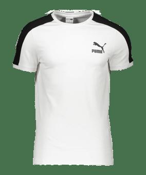 PUMA Iconic T7 T-Shirt bianco F02